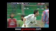 Катания 0 : 2 Милан гол на Кака`