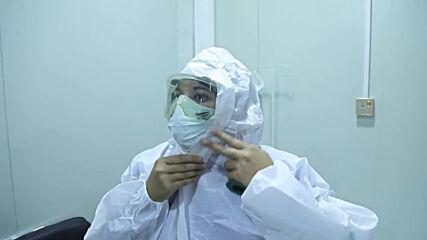 Iraqi nurse leads battle against coronavirus pandemic in Mosul