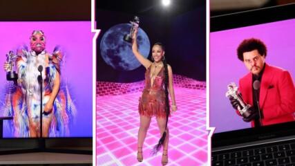 Шоу, каквото историята не помни: Кои са големите печеливши от MTV VMA 2020?
