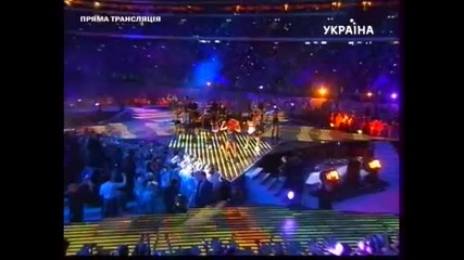 Rihanna Performing __what_s My Name__ (remix) at Shakhtar Donetsk 75th Anniversary