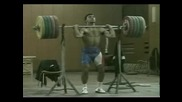 Златан Ванев - България   вдигане  тежести-Тренировка