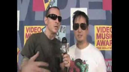 Linkin Park Interview Chester & Joe - Mtv Video Music Awards.flv