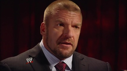 W W E.com - Triple H and The Authority get brutally honest in a series of sit-down interviews with M
