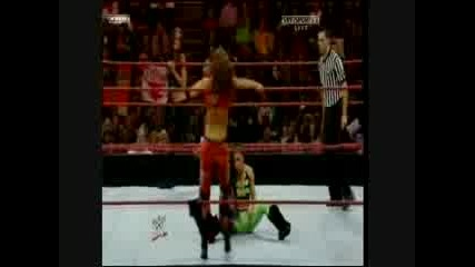 /Tag Team Match/ Womens Champion Mickie James & Maria Vs. Beth Phoenix & Melina RaW /12.05.08/