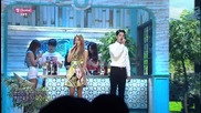 Soyou x Hong Jong Hyun - Some @ 141228 Sbs Inkigayo Mc Special Stage