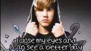 Justin Bieber - Pray (lyrics on screen)