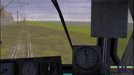 Bg Trainz:46 - 041 s vlak na Lukoil