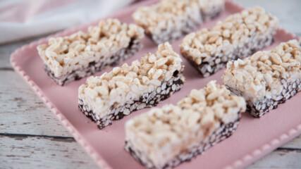 Хрупкави двойно шоколадови квадрати | Гурме за всеки ден: Десерти | 24Kitchen Bulgaria