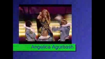 Анжелика Агурбаш - ESC 2005 Love Me Tonight