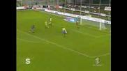 Fiorentina Ascoli 2 - 0 Coppa Italia