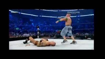 john cena vs Randy orton Breaking point I Quit match