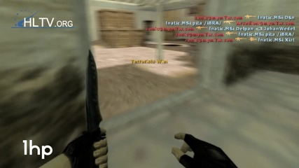 Xperia Play 2011: zonic vs fnatic ( Counter - Strike 1.6 )