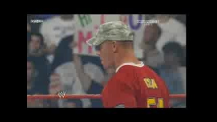 John Cena И Batista Си Уреждат Мач Но Shane McMahon ги прекъсва High Quality 28.07.2008