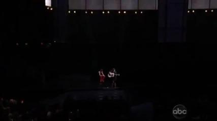 Изпълнението на Джъстин Бийбър на наградите Ama - As Long As You Love Me 18/11/2012
