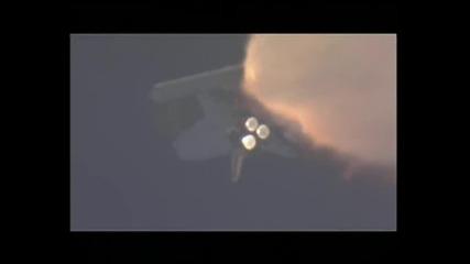 Изтреването На Совалката Атлантис На 07.02.2008 ... красота
