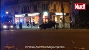 Сражението на полицията с терористите в Париж 13.11.2015 г