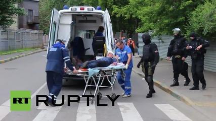 Стрелба в централната част на Москва