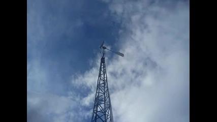 Ветрогенератор в действие
