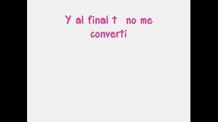 Paty Cantu - Se Desintegra El Amor /превод/