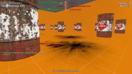 Hostile Takeover - Gmod Suicide Barrels w-nova, Immortal & Kevin Ep.2