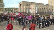 Germany: Stuttgart activists march against AfD congress following arrests