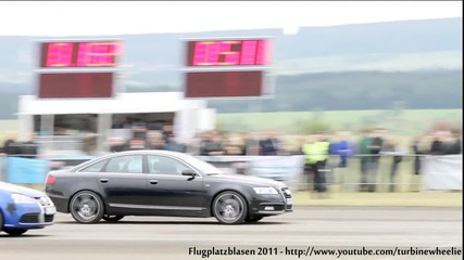Audi A6 vs. Golf R32