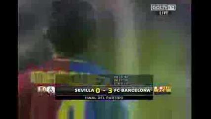 Sevilla Vs Barca 0 - 3 29.11.2008