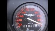 peugeot fox 90 km/h