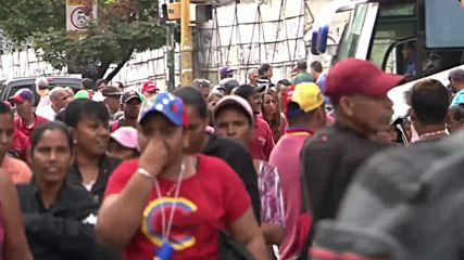 Venezuela: Pro-Maduro rally protests against opposition leader Juan Guaido