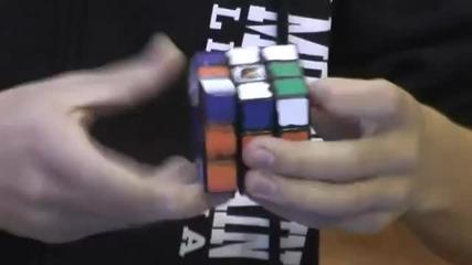 Световен рекорд ! Най-бързото редене на кубчето на рубик 6,24 сек !