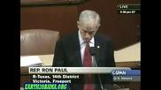 Рон Пол - закрийте федералния резерв