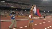 Световен рекорд и Олимпийско злато за Елена Исимбаева