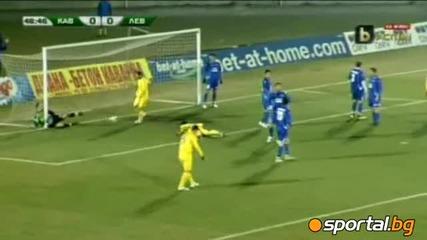 Левски победи Калиакра в контролната среща на 19.03.2011