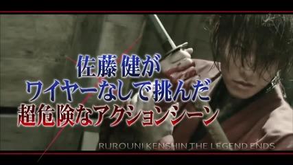 佐藤健 - Sato Takeru stunt for Rurouni Kenshin