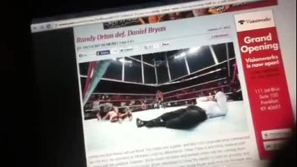 Ренди Ортън печели титлата на федерацията