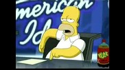 The Simpsons American Idol