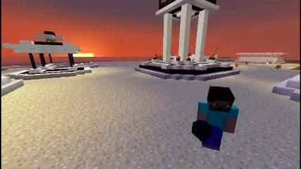 Minecraft Redstone #1 Tnt Изстрелвачка (2ри вариант)!