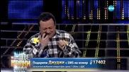 Рачков като таксиметров шофьор - Като две капки вода - 16.03.2015 г.