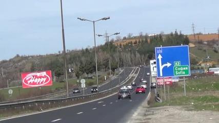 Задръствания край Благоевград