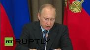 Russia: Putin urges mass production of ultra-modern Russian armaments