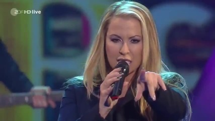 Anastacia - Stupid Little Things (wetten dass - Zdf German Tv 5-4-2014)