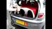 Bass in car