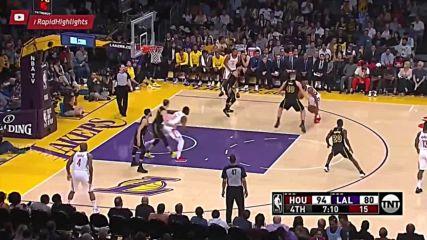 Houston Rockets vs La Lakers - Full Game Highlights - 10.04.2018