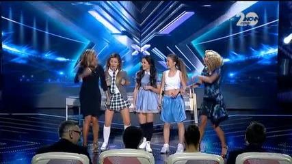 Sweet 16 - X Factor Live (04.11.2014)