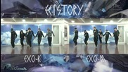 Exo - History (korean - Chinese dance ver.)