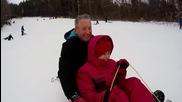 Деца виждат сняг за пръв път в живота си и не могат да скрият радостта си!