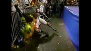 Ecw - Рей Мистерио и Конан срещу Ла Парка и Психозис(1995)