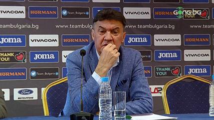 Боби Михайлов: Починах си, връщам се да стягам редиците