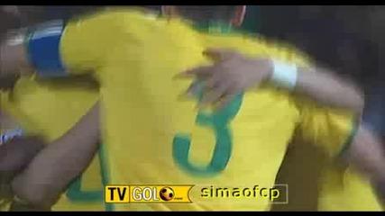 11.06 Бразилия - Парагвай 2:1 Нилмар гол