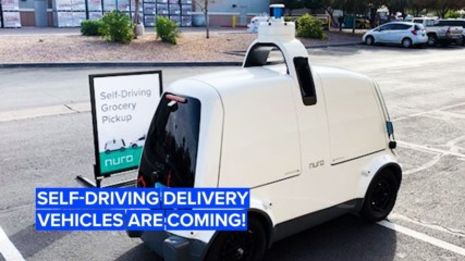 Will your next pizza arrive in a driverless delivery pod?